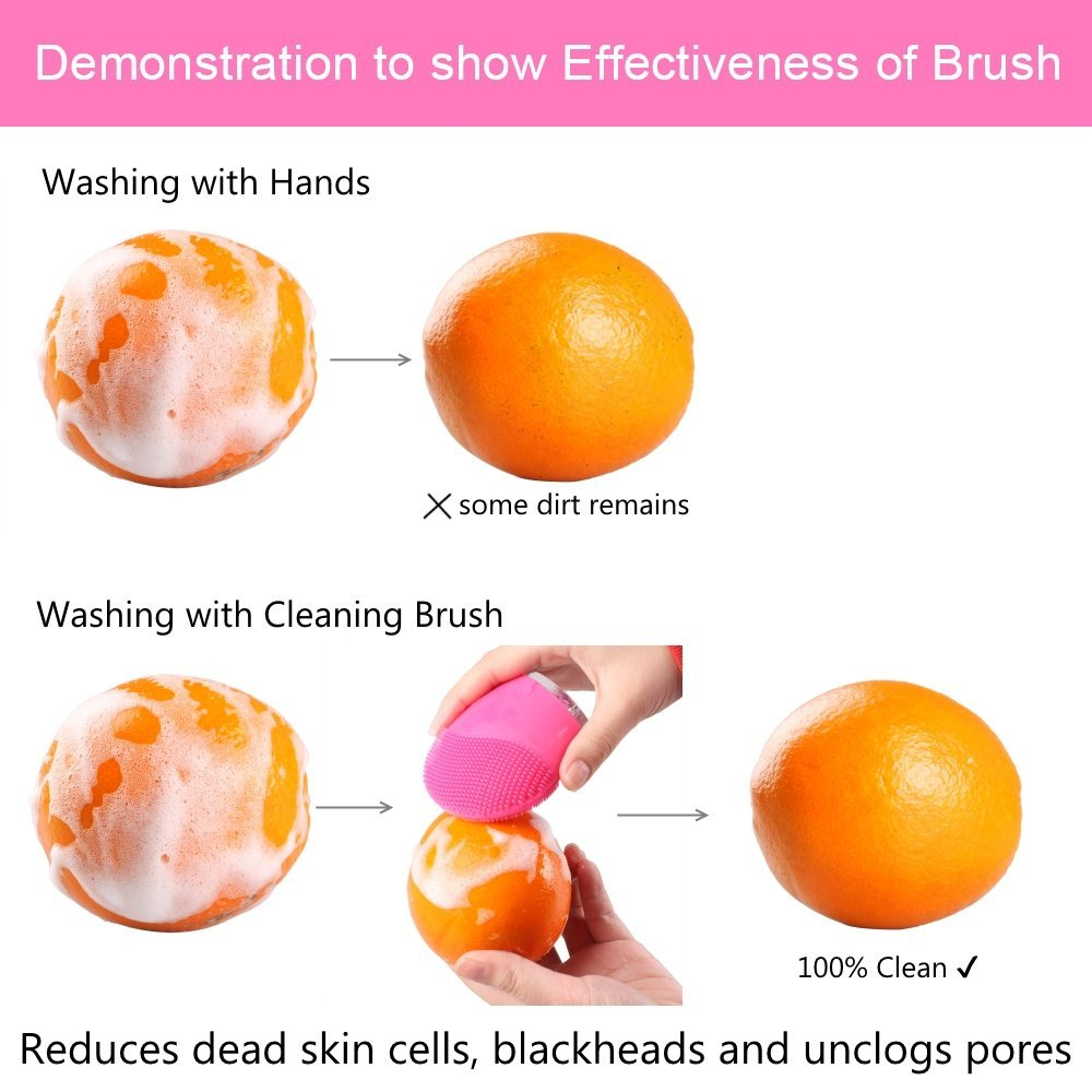 Check out the MelodySusie® Sonic Facial Cleansing Brush & see if it is a comparable dupe for the Foreo Luna! Some of my favorite ways to clean my skin are in this post so make sure you check it out on All Things Beautiful XO