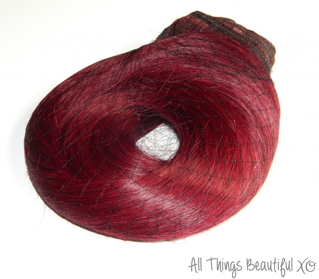 The Irresistible Me Silky Touch Clip-In Hair Extensions in Silky Rosewood- basically my favorite hair extensions ever! The Silky Touch extensions are 100% Remy human hair & are amazing quality. & you've got to see this burgundy red purple hair color! Check out my review + hairstyle demo on All Things Beautiful XO   www.allthingsbeautifulxo.com