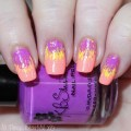 Some stunning Neon Tropical Summer Dry Brush Nail Art with KBShimmer Rum Me the Right Way, Sarong Place Sarong Time, & Bahama Drama! Easy & perfect for the hot weather- almost a bit like summer palm trees or exotic parrot feathers? Check them out on All Things Beautiful XO   www.allthingsbeautifulxo.com