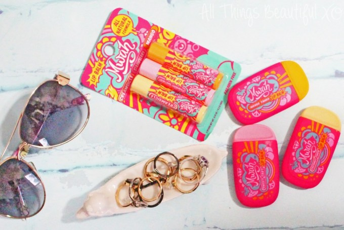 Mwah Lip Products are Summer Lovin' with mini reviews & more info about this natural, solar company on All Things Beautiful XO | www.allthingsbeautifulxo.com