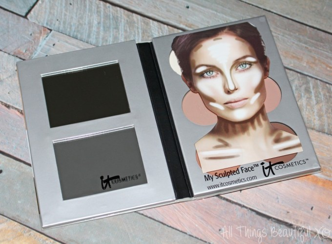 It Cosmetics My Sculpted Face Palette Swatches & Review on All Things Beautiful XO | www.allthingsbeautifulxo.com