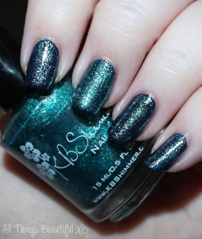 KBShimmer Fall 2015 Swatch Talk Qwerty to Me  Swatches & review of the KBShimmer Fall 2015 nail polish shades in Talk Qwerty to Me, I've Seen Sweater Days, Soul Deep, Dark & Twisty, Such A Vlad-Ass, & I Feel Gourd-geous. This is part #1 of 2 on All Things Beautiful XO | www.allthingsbeautifulxo.com