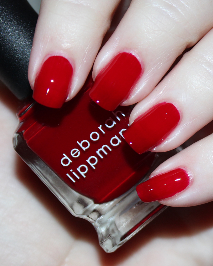 Deborah Lippmann Nail Polish in Lady is a Tramp   Fabulous Deborah Lippmann Nail Lacquer Shades- Swatches & Thoughts!