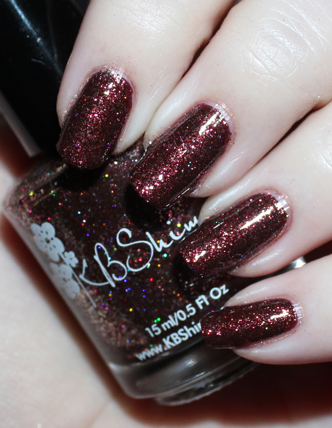 This is KBShimmer  Garnet  Swatches & review of the stunning KBShimmer Birthstone collection including shades like Sapphire, Peridot, Diamond, & more! See more on All Things Beautiful XO including makeup tutorials, skincare, hair, & more nail love!