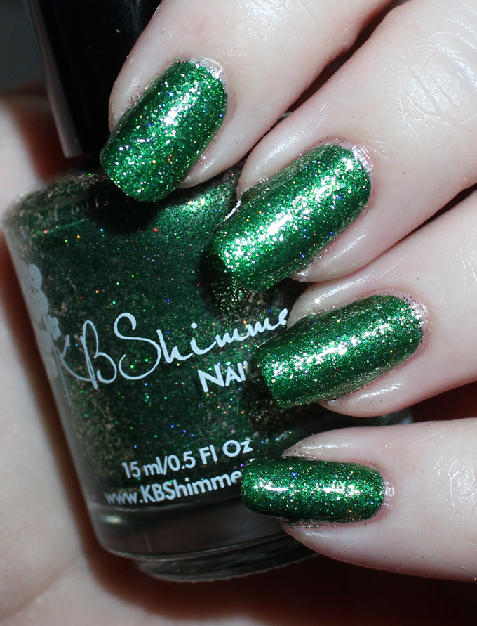 This is KBShimmer  Emerald  Swatches & review of the stunning KBShimmer Birthstone collection including shades like Sapphire, Peridot, Diamond, & more! See more on All Things Beautiful XO including makeup tutorials, skincare, hair, & more nail love!