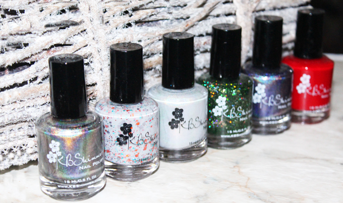 KBShimmer Happy Holidays Giveaway with All Things Beautiful XO- Enter to win half of the Holiday/Winter Collection from the gorgeous indie nail polish brand KBShimmer on All Things Beautiful XO + a HUGE beauty blog hop!