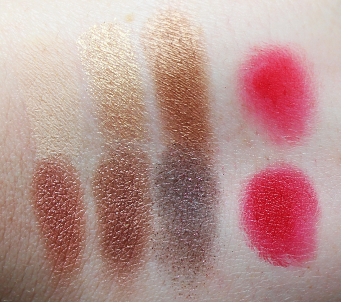 Swatches & review of the Lancome La Palette 29 Faubourg Saint Honoré collection. See more makeup, nailart, & beauty posts on All Things Beautiful XO