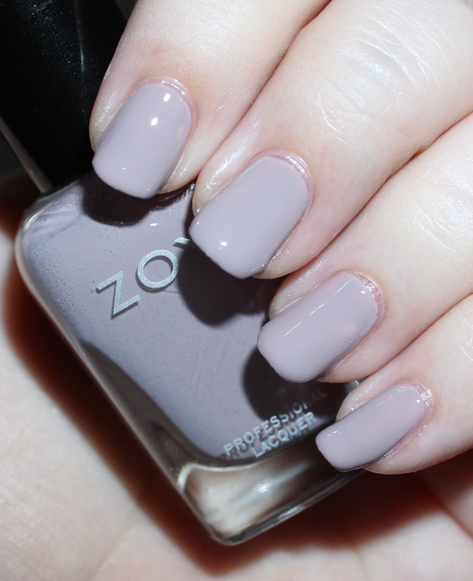 ZOYA EASTYN   Swatches & review of the Zoya Whispers Transitional 2016 Nail Polish Collection including the shades April, Cala, Lake, Eastyn, Ireland, & Misty on All Things Beautiful XO