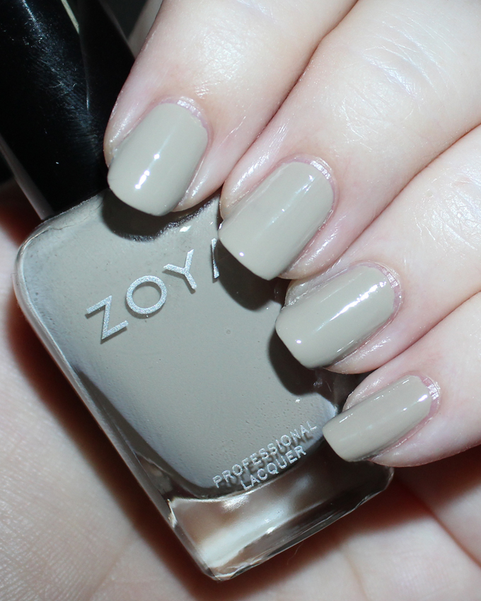 ZOYA MISTY   Swatches & review of the Zoya Whispers Transitional 2016 Nail Polish Collection including the shades April, Cala, Lake, Eastyn, Ireland, & Misty on All Things Beautiful XO