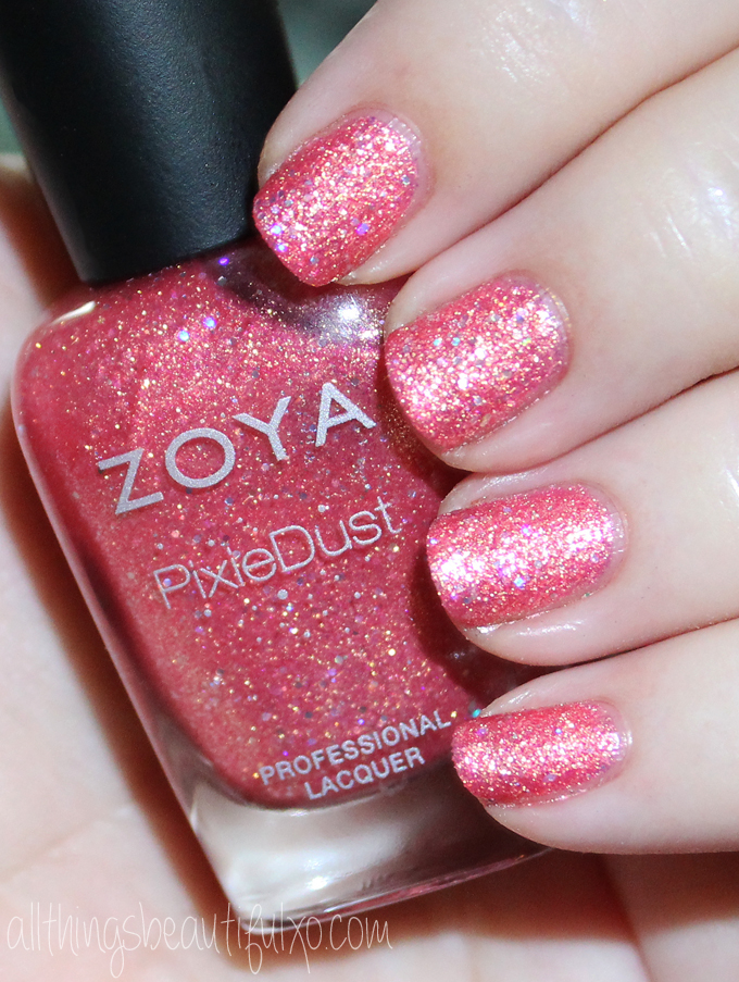 This Is Zoya Zooey Swatches Review Of The Pixie Dust Seashells Collection Including Levi