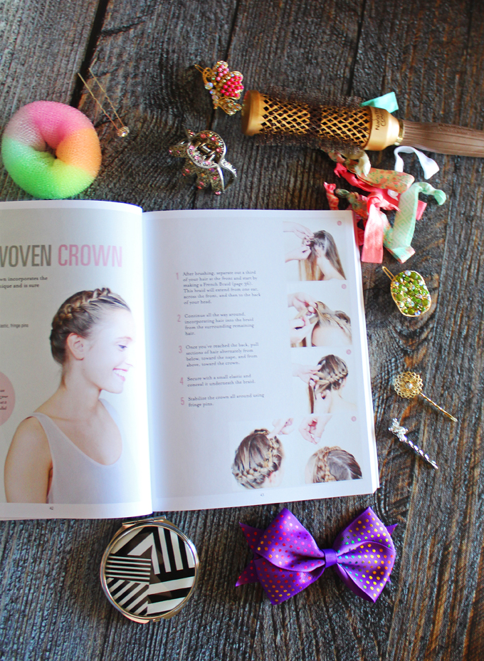 """Inside Hairstyled by Anne Thoumieux you'll find """"75 Ways to Braid, Pin & Accessorize Your Hair"""". Check out a full review on All Things Beautiful XO along with makeup tutorials, nail art, & more!"""