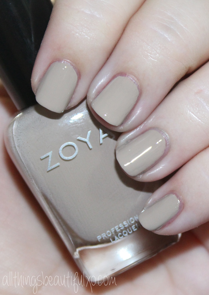 This is Zoya Noah Swatches & review of the Zoya Urban Grunge Creams including the shades Mallory, August, Wyatt, Courtney, Tara, & Noah! Check out more nail art, makeup reviews, & style on All Things Beautiful XO