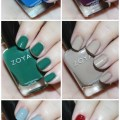 Swatches & review of the Zoya Urban Grunge Creams including the shades Mallory, August, Wyatt, Courtney, Tara, & Noah! Check out more nail art, makeup reviews, & style on All Things Beautiful XO