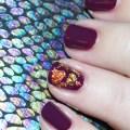 Simply Gorgeous Autumn Metallic Flake Nail Art including some tips & tricks on All Things Beautiful XO