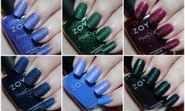Zoya Enchanted Winter & Holiday 2016 Collection Swatches & Review
