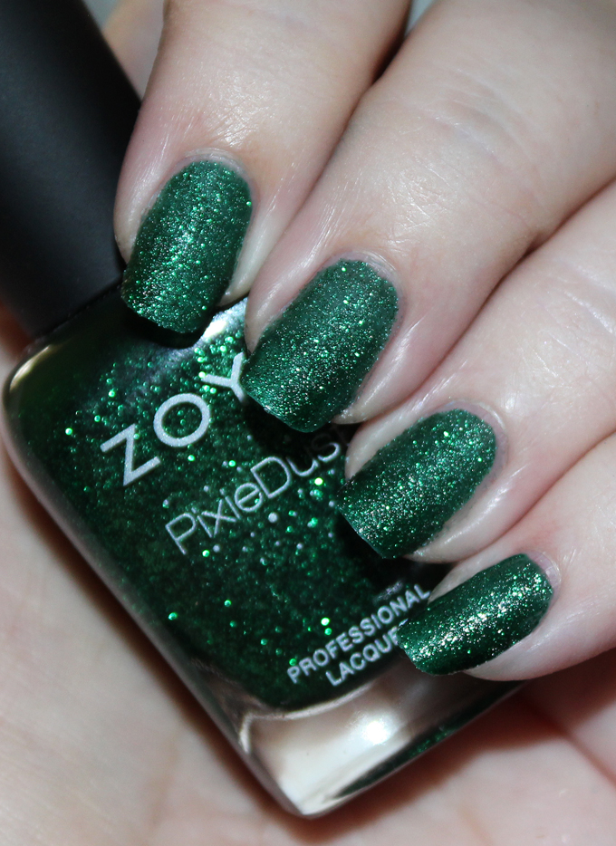 Here's a look at Zoya Nail Polish in Elphie Zoya Enchanted Winter & Holiday 2016 Collection Swatches & Review