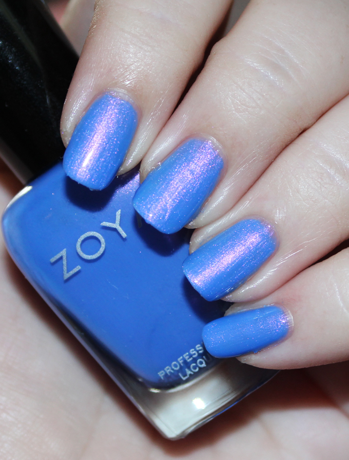 Here's a look at Zoya Nail Polish in Saint Zoya Enchanted Winter & Holiday 2016 Collection Swatches & Review