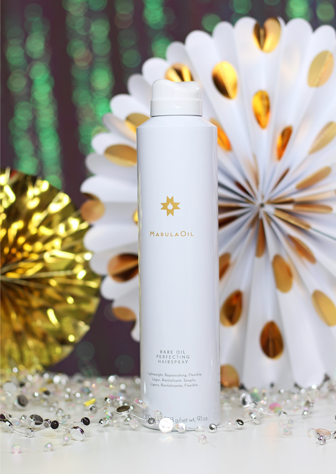 MarulaOil Rare Oil Perfecting Hairspray Low-Key Holiday Beauty Finds for Every Day from brands like ChapStick, Paul Mitchell, & more on All Things Beautiful XO #BabbleBoxxBeauty #ad #beauty