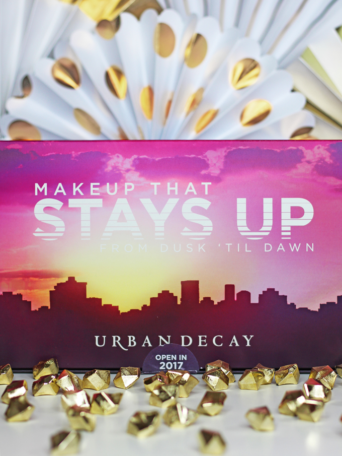 Urban Decay Prep, Prime, & Set for Spring 2017 with new Complexion Prep Priming Sprays, Complexion Primers, ^ Makeup Settings Sprays! Here's the first look! See more beauty, nail art, & makeup reviews on All Things Beautiful XO
