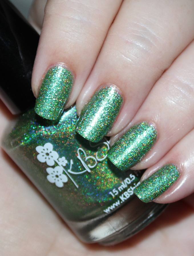 This is KBShimmer The Holy Kale Check out my picks for the best nail polish shades from 2016 including Zoya, KBShimmer, & more on All Things Beautiful XO