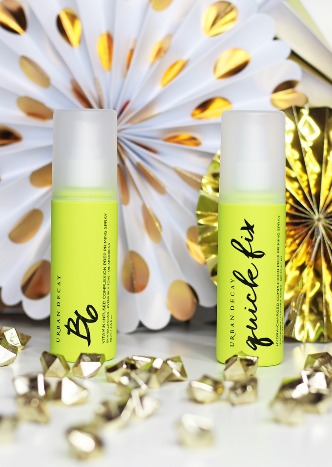 Do the Urban Decay Quick Fix & B6 Prep Sprays work? Check out my review & more beauty, makeup, & nail posts on All Things Beautiful XO
