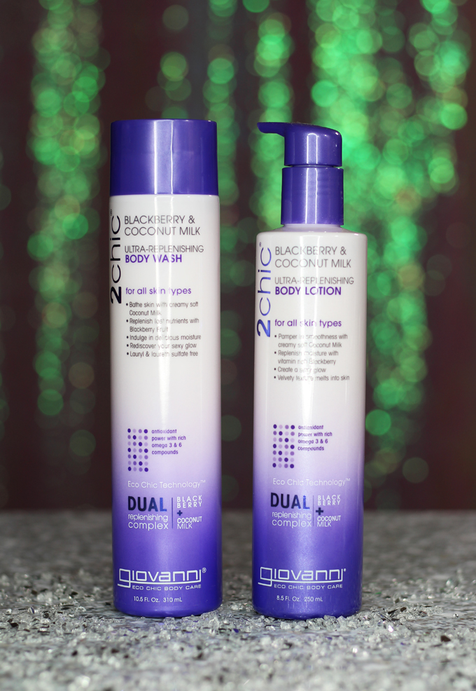 My review 2CHIC Hair & Body Repairing line from Giovanni including hair treatments, cleansing, & more on All Things Beautiful XO
