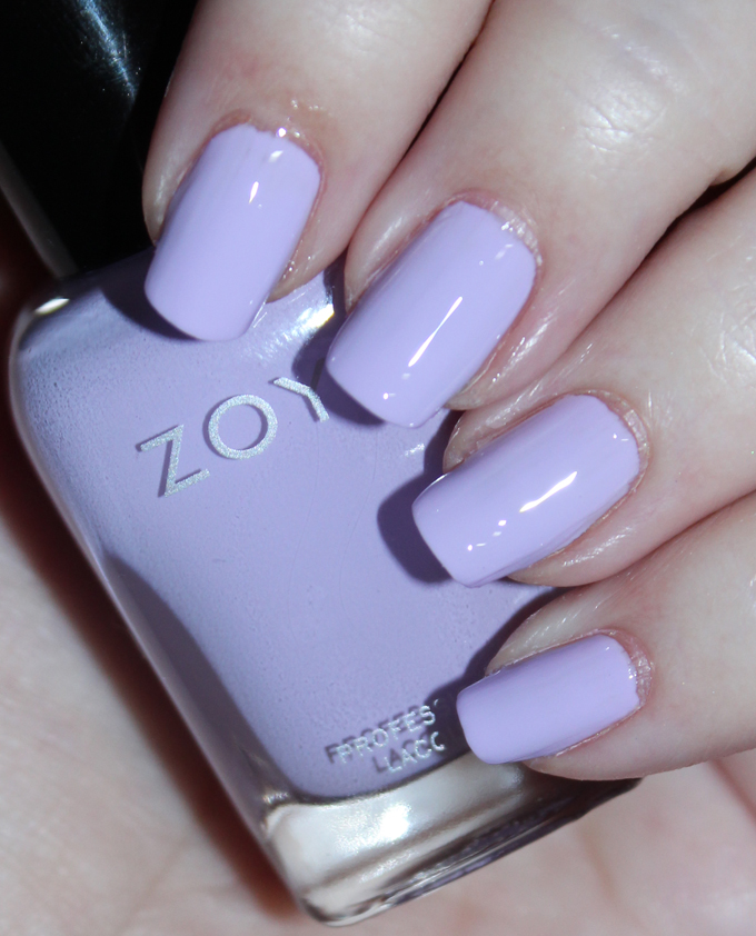 This is Zoya Nail Polish in the shade Abby Zoya Charming Spring 2017 Collection Swatches & Review including the shades Jordan, Abby, Tina, Millie, Lacey, & Amira on All Things Beautiful XO