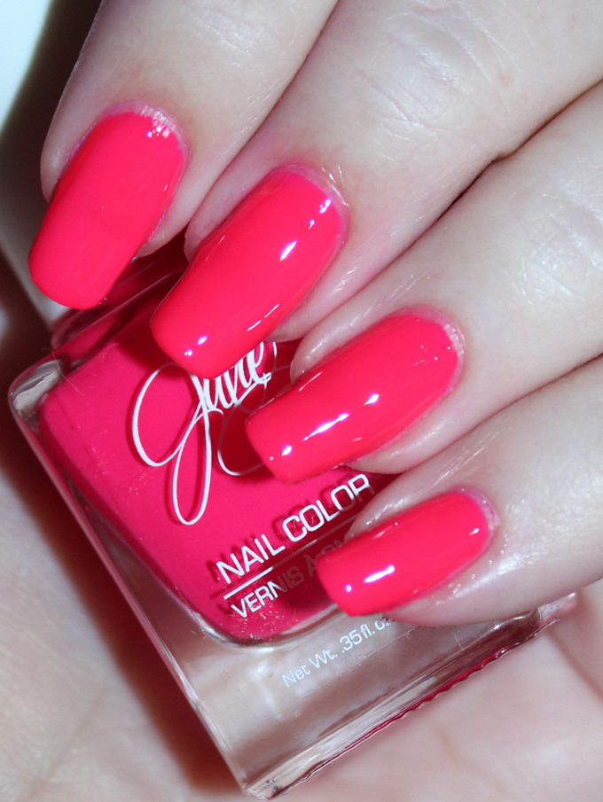 Jesse\'s Girl Julie G Nail Polish Trios Swatches, Review, & Fun Nail Art!