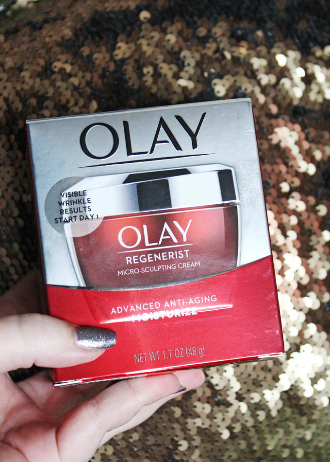 Best Drugstore Anti-Aging Hydrating Moisturizer in the Olay Regenerist Micro-Sculpting Cream on All Things Beautiful XO
