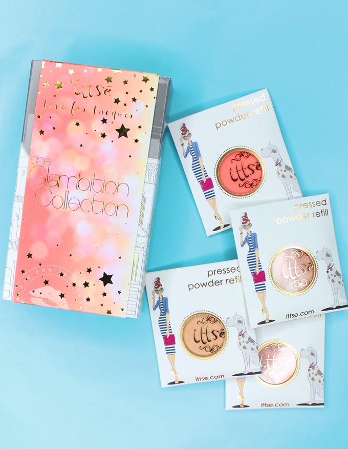 Swatches, review, & a look using the gorgeous Ittse X Love for Lacquer : The Glambition Collection including the shades Hustle + Glow, Goal Digger, #GIRLBOSS, & Run the World on All Things Beautiful XO