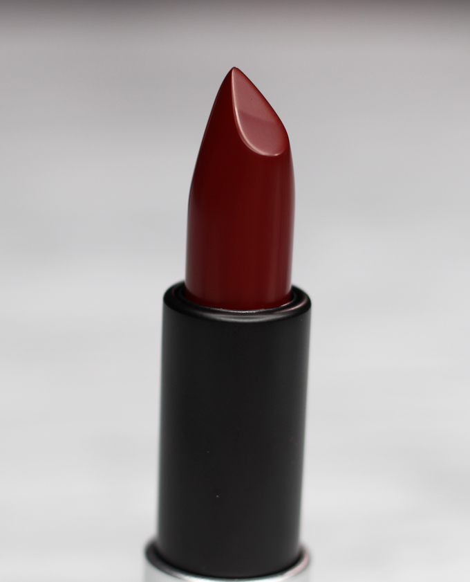 MUFE Artist Rouge Lipstick Satin Creme in C407 Black Red | I Bought a Bunch of MUFE Artist Rouge Lipsticks & Here's What I Think! (Make Up For Ever swatches, full face, & sass) on All Things Beautiful XO