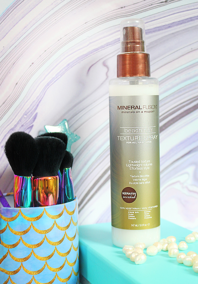 Mineral Fusion Beach Hair Texture Spray Check out the best hair products to get the most fabulous beachy waves, treat, & style them on All Things Beautiful XO