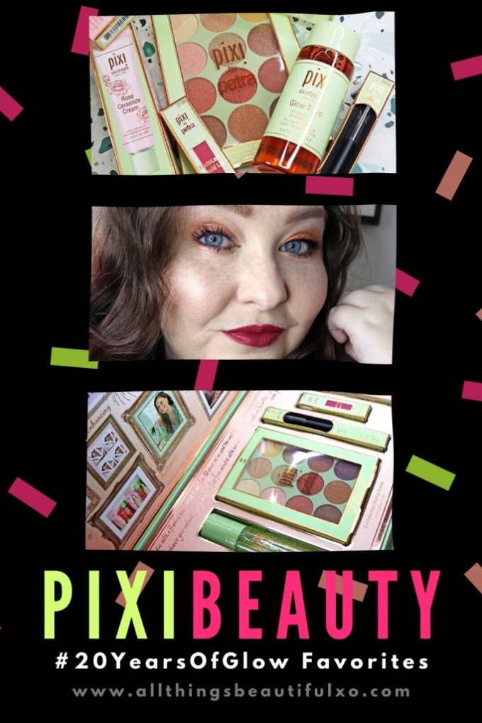 Pixi Beauty favorites for #20YearsOfGlow including Pixi MatteLast Liquid Lip in Berry Beauty, Glow Tonic, & more on All Things Beautiful XO