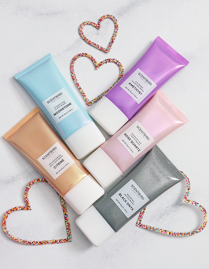 Scentbird Gemstone & Crystals Facial Masks Gifts for yourself, galentines, mom, or women in your life that AREN'T your regular box of chocolates or bouquet of flowers on All Things Beautiful XO