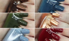 Swatches & Review of the Zoya Luscious Part B Collection - shades in Lisa, Lou, Mel, Soleil, Tasha, and Tommy on All Things Beautiful XO