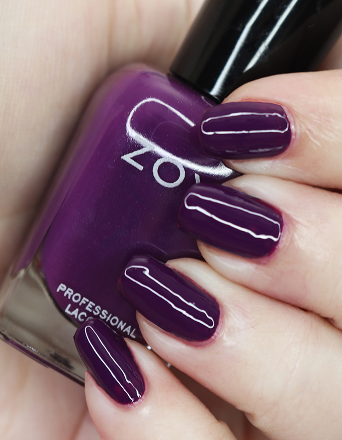 Zoya Nail Polish in Bentley from the Luscious Collection  Swatches & Review of the Zoya Luscious Part A Collection - shades in  Wanda, Patrice, Teresa, Andrea, Bentley, and Sharon on All Things Beautiful XO