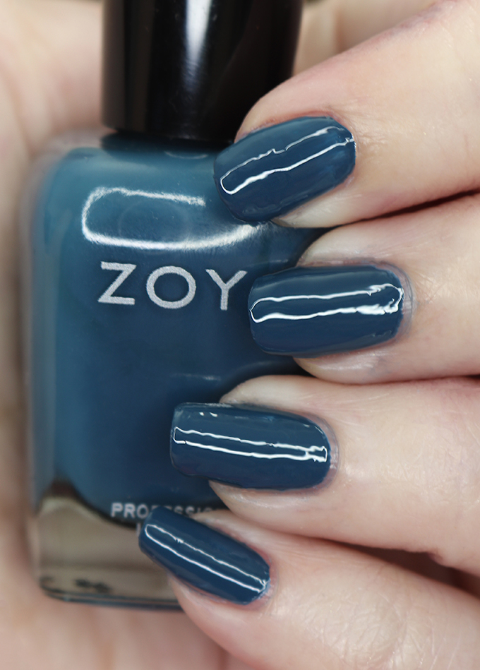 Zoya Nail Polish in Lou from the Luscious Collection  Swatches & Review of the Zoya Luscious Part B Collection - shades in Lisa, Lou, Mel, Soleil, Tasha, and Tommy on All Things Beautiful XO