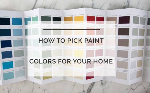How To Choose A Paint Color Pick Colors For Your Home