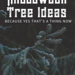 Halloween Christmas Tree Ideas All Things Christmas