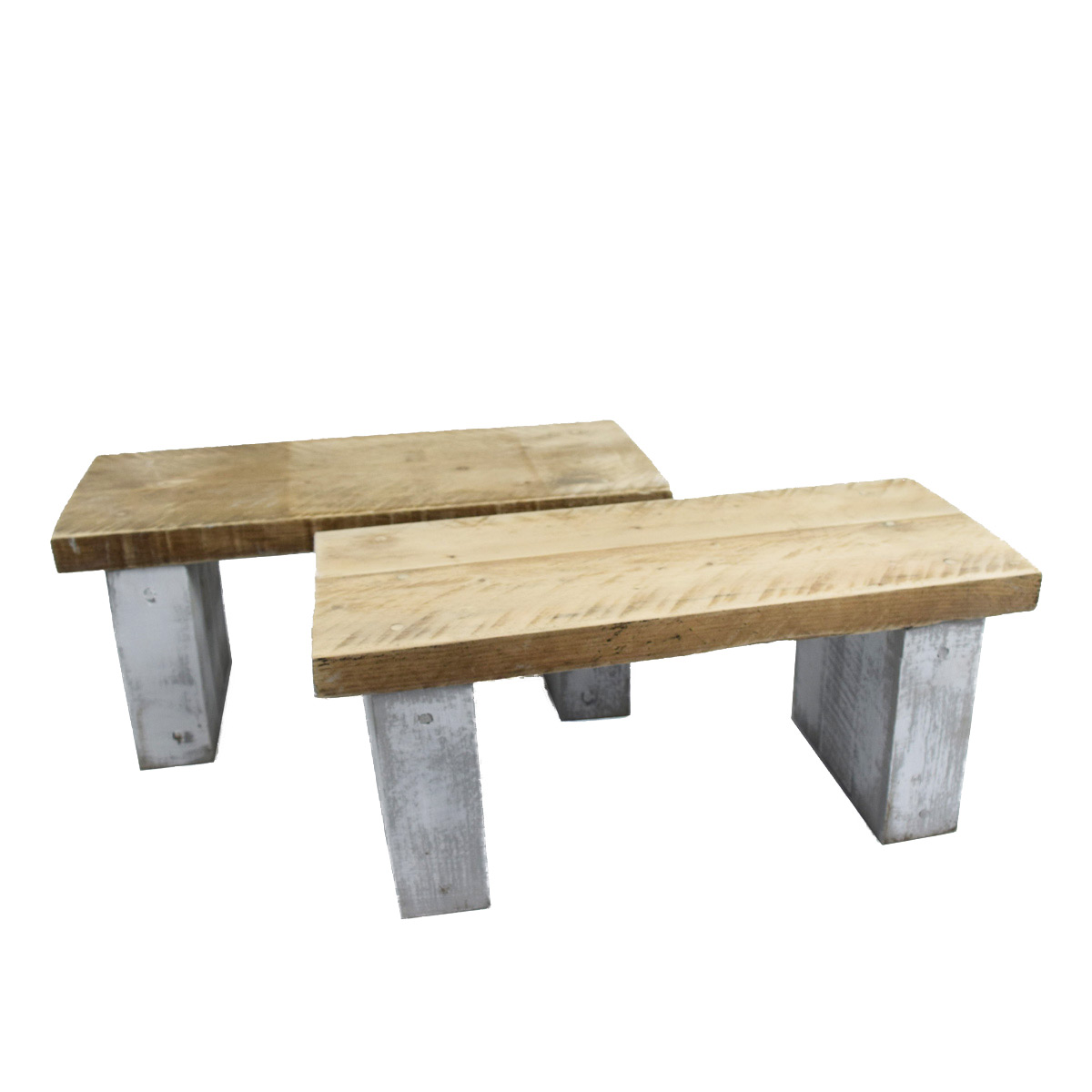 Reclaimed Rustic Wood Mini Coffee Table