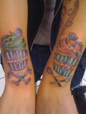 kristinas-cupcake-tattoos. We received this photo and email from ATC Reader