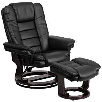 ergonomic recliner chair hickory renata stand best recliners of 2019 all things flash furniture contemporary black leather and ottoman