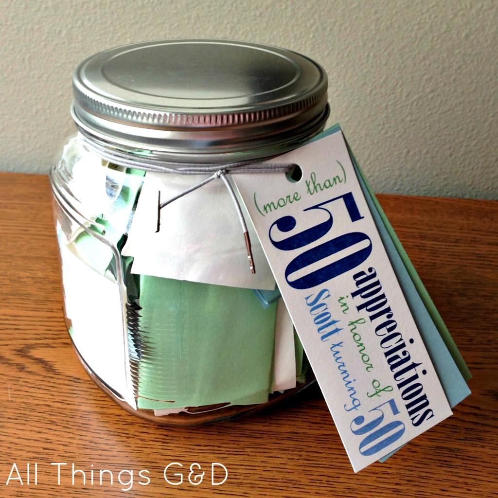 appreciation jar gift idea