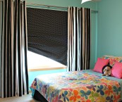 how to make roman shades with mini blinds
