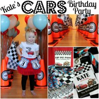 Kate's Cars Themed Birthday Party! - All Things G&D