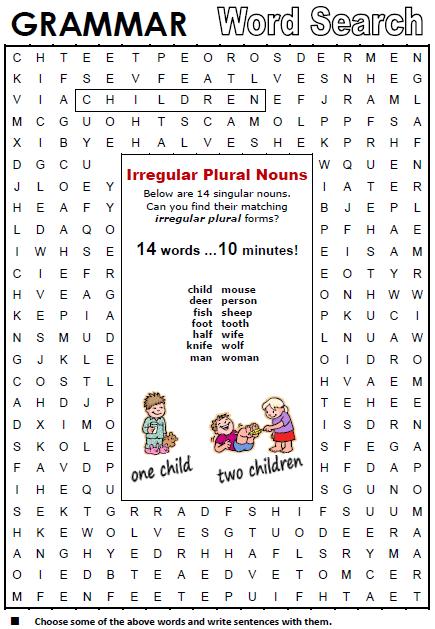 Plural Amp Singular Nouns
