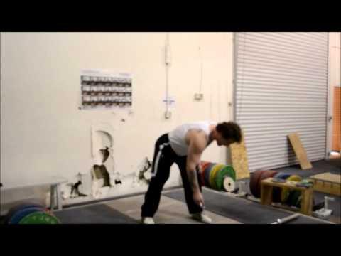Press In Split Drills And Split Jerk Foot Position All