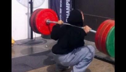 Sean Hutchinson Triple Bodyweight Squat - All Things Gym
