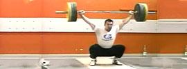 Szymon Kolecki George Asanidze Snatch Training