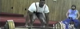 Ronnie Coleman's First Powerlifting Competition